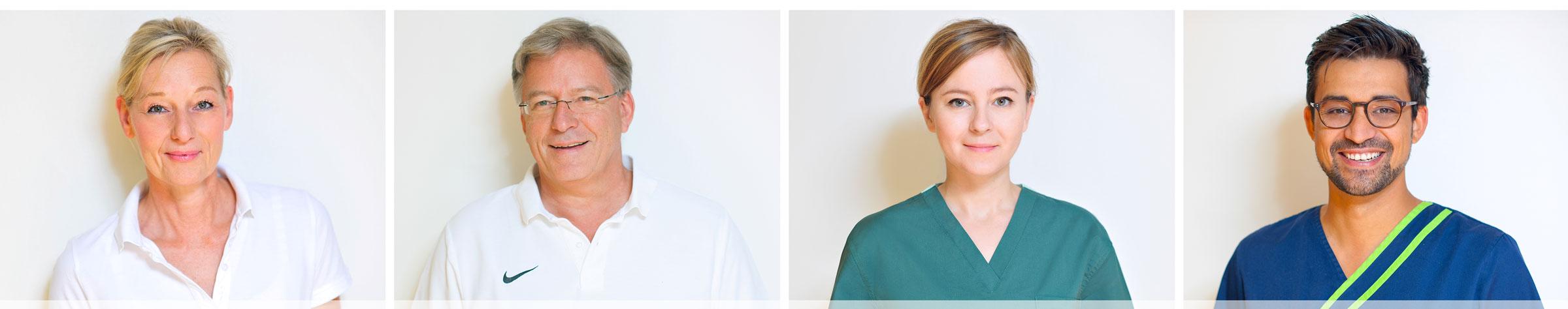 Das Zahnärzte-Team der Zahnarztpraxis Dr. Freund & Kollegen in Berlin Friedrichshain-Kreuzberg